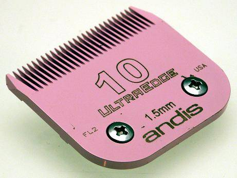 Andis UltraEdge No. 10 pink blade