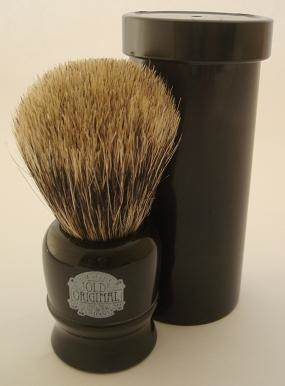 Progress Vulfix 2190 Travel shaving brush, black
