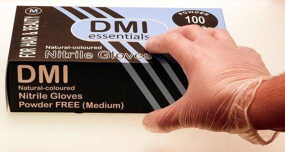 Disposable Nitrile Gloves, 100