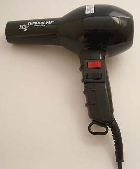 ETI Turbo hairdryer, black