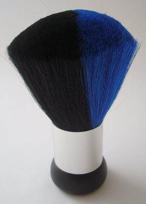 Blue 'n' Black Neck Brush