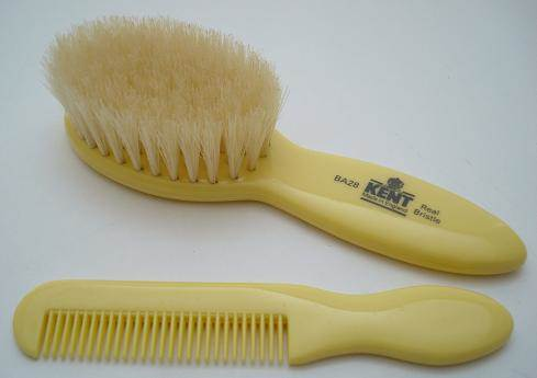 Kent BA28 Baby brush & comb set