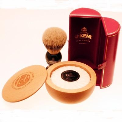 Kent Blk4 Shaving Brush Amp Shaving Bowl Diamond Edge