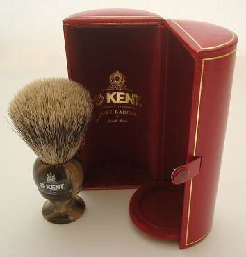Kent H series horn shaving brush