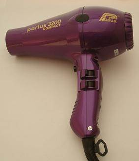 Parlux 3200 Compact hairdryer, purple