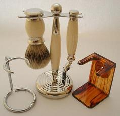 Shaving Brush Drip Stands