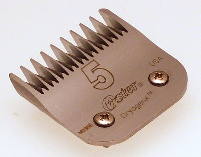 Oster No 5 clipper blade