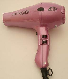 Parlux 3200 Compact hairdryer, pink