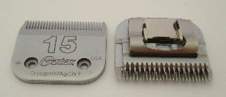 Oster No 15 clipper blade