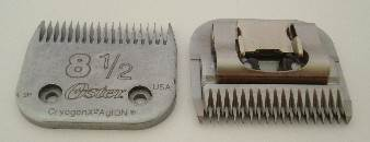 Oster No 8 1/2 clipper blade