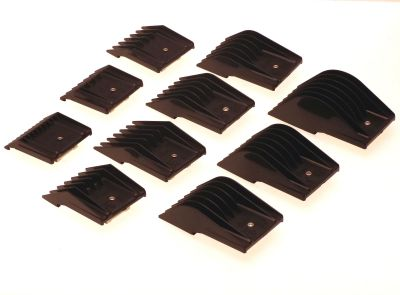 Set of 10 Oster Universal attachment clipper combs