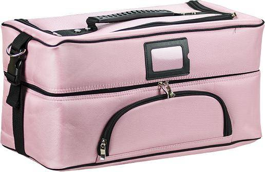 Red Spot Pink Holdall