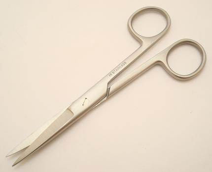 "Surgical dressing scissors - 5"" S/S straight blades"