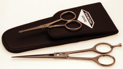 Diamond Silk Safety scissors set with pouch
