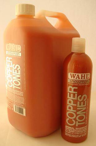Wahl Copper Tones shampoo concentrate