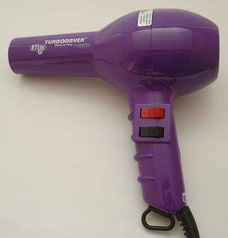ETI Turbo hairdryer, purple