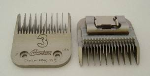 Oster No 3 clipper blade