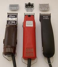 Hairdressing Clippers with Detachable Blades