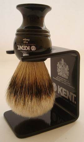 Kent VSB2 shaving brush dripstand