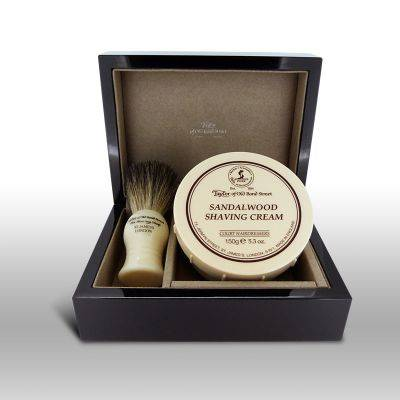 Taylor of Old Bond Street Sandalwood in Polished Wood Gift Box