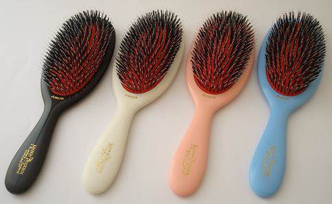 Smuk Mason & Pearson Hair Brushes - Diamond Edge SM-97