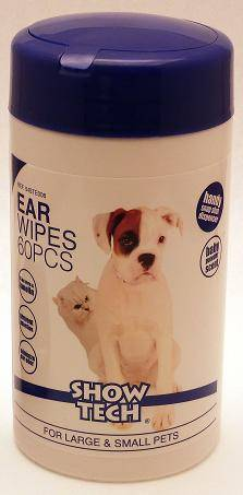 Show Tech Ear wipes (60)