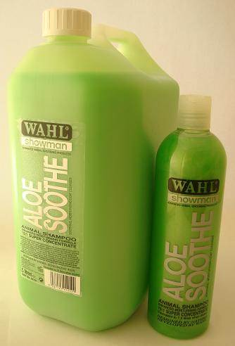Wahl Aloe Soothe shampoo concentrate