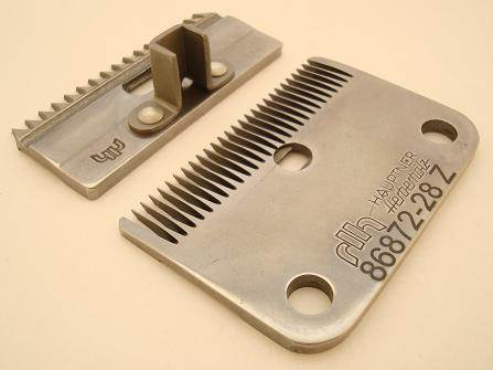 Hauptner Horse clipper blade set 86872/86833 Coarse