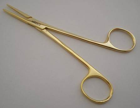 "Aaronco Hairmostat 5 1/2"" Gold"