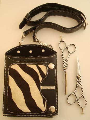 Ama Silhouette Zebra set with holster