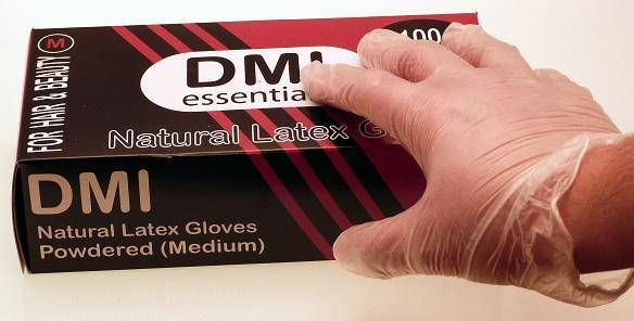 Disposable Latex Gloves, 100
