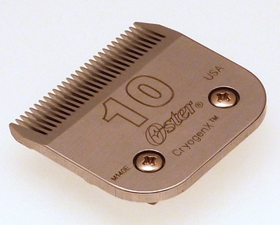 Oster No 10 clipper blade