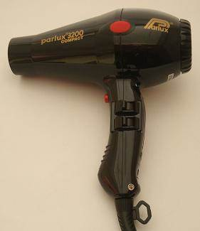 Parlux 3200 Compact hairdryer, black