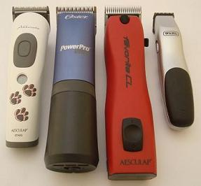 Cordless Dog Grooming Clippers