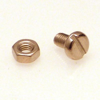 Wren earth screw & nut